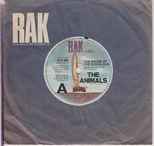 "THE ANIMALS - House Of The Rising Sun - Rare Australian 3-track 7"" vinyl single"