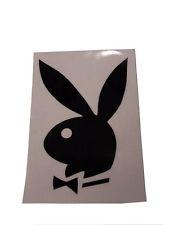 2 schöne PLAYBOY Auto Aufkleber ~ 9x13 cm ~ selbstklebend Bunny Sticker NEU