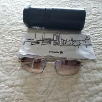 Ic Berlin Uri  Germany Sunglasses Bronze Lens, very lightweight stainless Rims