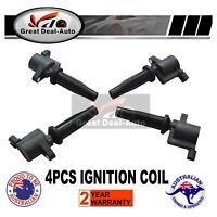 Set of 4 Ignition Coils fit for Mazda 3 BK - SP23 09/2003-05/2006 L32.3L