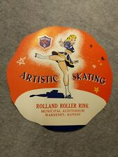 Chicago Brand Roller Skates Vintage Decal - Artistic Skating - NOS Kansas
