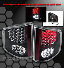 94-04 CHEVY S10 PICKUP/GMC SONOMA LED TAIL LIGHTS BLACK