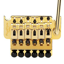 Authentic Floyd Rose 1000 Series Pro Tremolo: Gold, R3 Nut