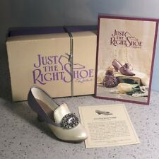 Just The Right Shoe Willitts Raine Figurine Collectible Box Jeweled Heel Pump 98