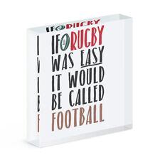 If Rugby Zuvor Easy Es Würde Sein Genannte Fußball Acryl Foto Block Rahmen