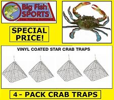 4 STAR CRAB TRAPS Four Crab Traps BRAND NEW! EAGLE CLAW TRAPS!