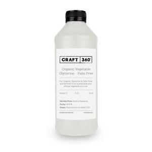 ORGANIC PALM FREE VEGETABLE GLYCERINE USP Pure Cosmetic Skin Haircare Glycerol