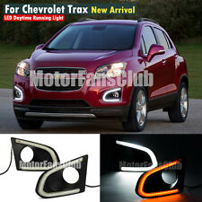 LED Daytime Running Light For Chevy Chevrolet Trax DRL 2013 2014 15 Turn Signal