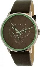 Ted Baker Men's 10023496 Brown Leather Quartz Dress Watch