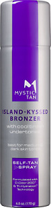 Mystic Tan Sunless Self Tanner Airbrush Spray Tan with Bronzer - Island-Kyssed,