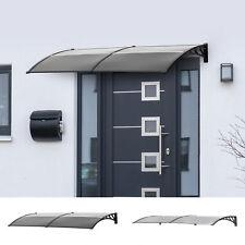 Door Canopy Awning Outdoor Window Rain Shelter Cover for Door Porch 200 x 80cm