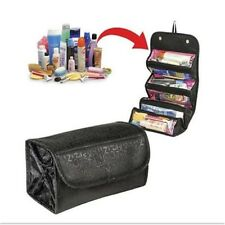 Lady roll Multifunction Travel Cosmetic Bag Makeup Case Pouch Toiletry Organizer