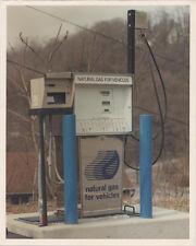 NATURAL GAS FILLING STATION, DARKROOM C PRINTS, SET OF 15.