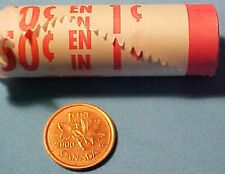 2000 CANADIAN PENNY .01 CENT COLLECTOR QUALITY FROM ROYAL CANADIAN MINT ROLL