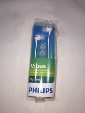 Philips SHE3550 Vibes My Jam In-Ear Headphones, White ~ Free Shipping NIB