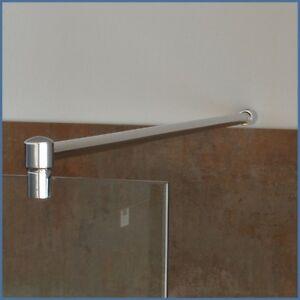 Stabilisierungsstange Dusche, Haltestange Duschwand, Stabilisationsstange Chrom