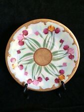 """Pickard Hand Painted, Signed """"Iris Conventional"""" Plate"""