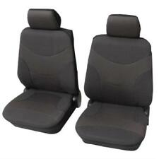 Dark Grey Deluxe Car Seat Covers - For Hyundai Accent 2005 To 2010