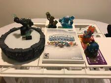 Skylanders Spyro's Adventure Game (Nintendo Wii) Bundled 5 Figurines & Portal