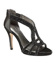 Antonio Melani 'Tamra' Jeweled Leather Sandals Sz 7.5 New