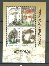 KOSOVO 2016 Mushroom Block MNH