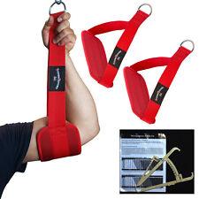 Bauchmuskelschlaufen, Gut-Blaster-Slings ROT + Körperfettmesszange NEU