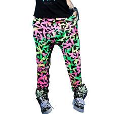 Adult Kids Fashion Loose Hip Hop Dance Harem Pants Sports Sweatpants Trousers