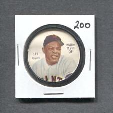 1962 Salada Coin #149 Willie Mays (Giants) (200)  Ex+  (Flat Rate Ship)