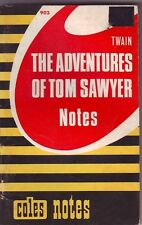 THE ADVENTAGES of TOM SAWYER _ STUDY AID SERIES COLLECTABLE ITEM