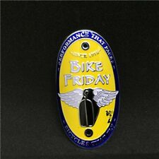 Bike Friday Bicycle Badge Light Alloy Road MTB cycling Frame Decals Sticker