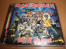 IRON MAIDEN cd BEST of THE BEAST 16 hits NUMBER running free live ACES HIGH