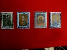 1974 VATICAN CITY  4 STAMPS THE HOLY YEAR