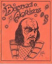 "Star Trek TOS Fanzine ""Beyond Antares #2, #3, #4, #5, #7, #9"" GEN"