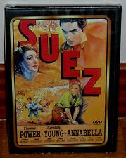 SUEZ DVD NUEVO PRECINTADO CINE CLASICO DRAMA HISTORICO ROMANTICO (SIN ABRIR) R2