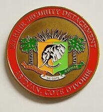 USMC Marine Security Guard Detachment MSG-Det US Embassy Abidjan Cote D'ivoire