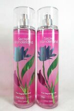 2 Bath Body Works Signature SECRET WONDERLAND Fragrance Mist Perfume Body Spray