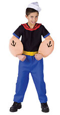 Child Size 8-10 Kids Popeye Costume - Funny Costumes