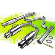 """FOR 07-12 NISSAN ALTIMA DUAL 4""""ROLLED TIP STAINLESS STEEL CATBACK EXHAUST KIT"""