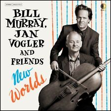BILL MURRAY, JAN VOGLER AND FRIENDS - NEW WORLDS CD *NEW*