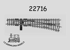 MÄRKLIN 22716 K-Gleis Right Turnout / Weiche rechts - NEW (c69