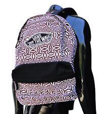 vans Realm Black berry Geo unisex womens backpack School bag