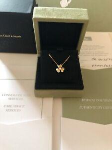 Van Cleef & Arpels Frivole Necklace Yellow Gold Flower