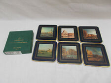 Cloverleaf LCC346 Canaletto Design Set Of 6 Coasters