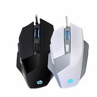 HP G200 USB Gaming mouse LED 4000 DPI Gaming Mice AVAGO 3050 Boxed