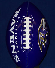 BALTIMORE RAVENS NFL PURPLE Football BRAND NEW Full Size Embroidered Team logo