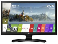 "LG 24MT49S 24"" Smart HD Ready IPS LED TV Wi-Fi & Freeview & Freesat - Black"