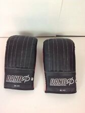 Dando Sports Martial Arts Boxing Bag Training Gloves 2 Pair Red