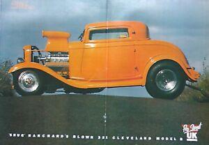 Large A3 Poster - Street Machine Magazine Supercharged 350ci Cleveland Model B
