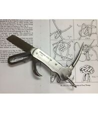 SAILORS TOOL Riggers Knife Sailing Shackle Key Ruler Bottle Opener Marlin Spike