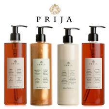 Prija Set Flüssigseife, Hair & Body, Bodylotion, Creme Bad Ginseng 4x 380 ml Spa